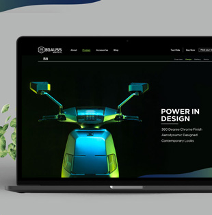 Bgauss-Website Design