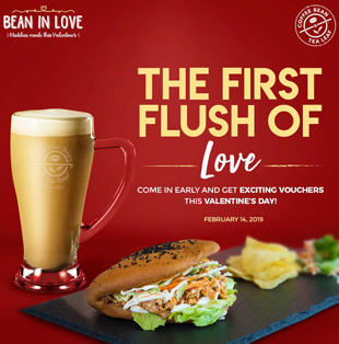 Coffee Bean & Tea Leaf #BeanInLove