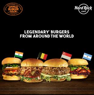 Hard Rock Cafe #WorldBurgerTour