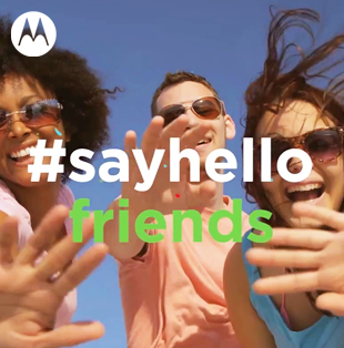 Motorola #WorldHelloDay
