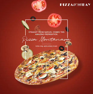 Pizza By The Bay-Social Media Marketing