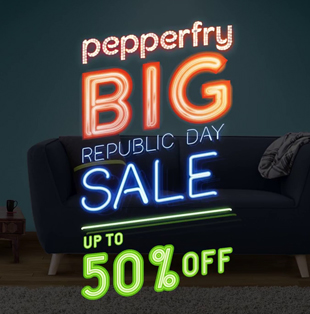 Pepperfry-Big Republic Day Sale