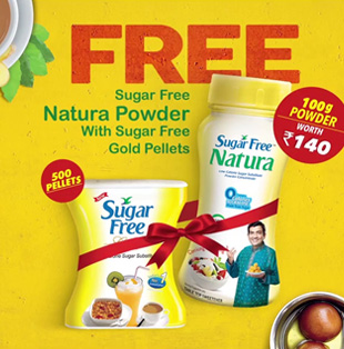 Sugar Free Natura-TVC Tag-on